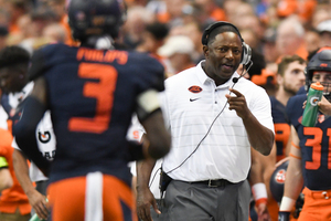 Babers shared a story from his time as quarterbacks coach at Texas A&M, where the Aggies honored the victims of 9/11 16 years ago.