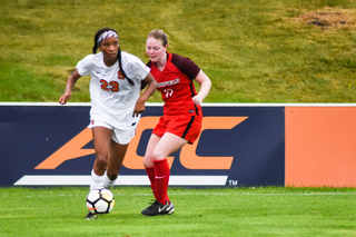 """The system that Fairfield played allowed us to play within their lines,"" Wheddon said. ""Once we get to the ACC, our speed of play has to get quicker and our speed closing players down has to be better."